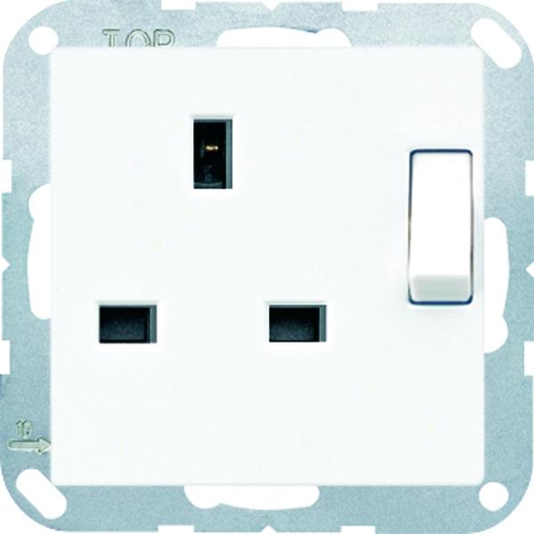 jung a3171ww abschaltbare steckdose alpinwei online kaufen im voltus elektro shop. Black Bedroom Furniture Sets. Home Design Ideas