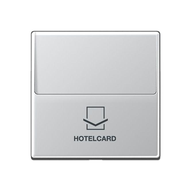 jung a 590 card al hotelcard schalter ohne taster einsatz aluminium lackiert online kaufen im. Black Bedroom Furniture Sets. Home Design Ideas