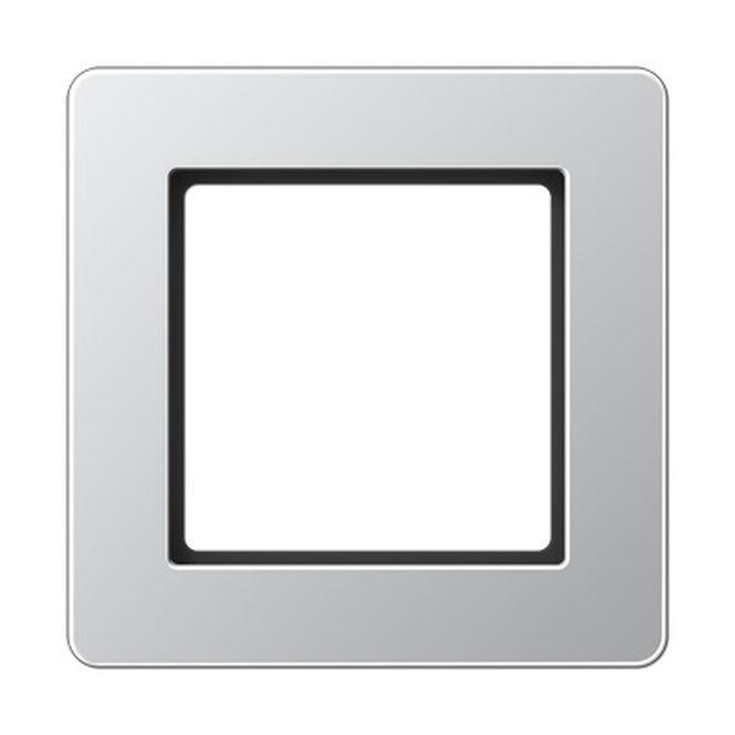 JUNG AF581BFAL Rahmen aluminium 1-fach