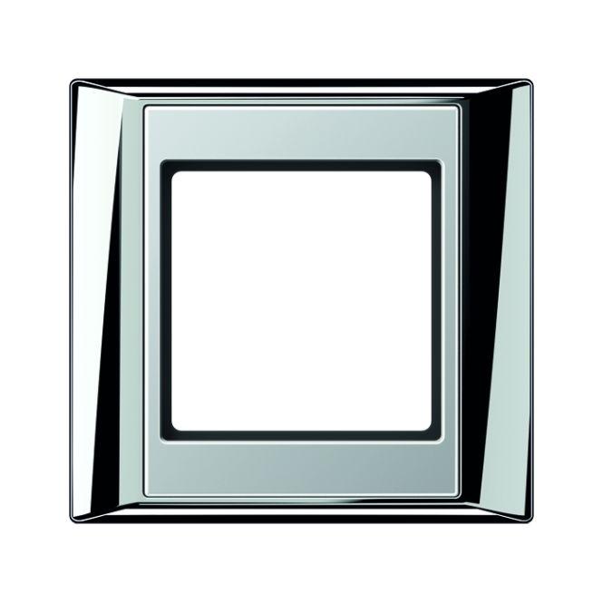 JUNG AP 581 GCR AL Rahmen glanzchrom-aluminium 1-fach