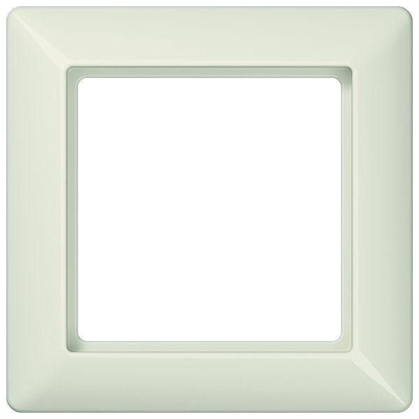 jung as581 abdeckrahmen cremeweiss 1 fach online kaufen. Black Bedroom Furniture Sets. Home Design Ideas