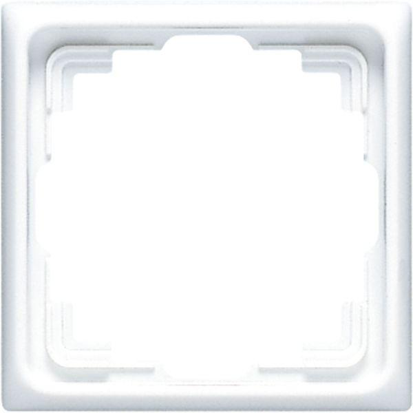 JUNG CD 581 K WW Abdeckrahmen Serie CD für Kabelkanal-Installation alpinweiß