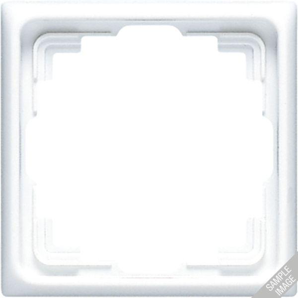 JUNG CD 581 K W Abdeckrahmen Serie CD für Kabelkanal-Installation weiß