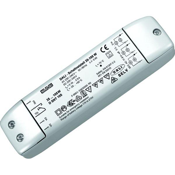 JUNG D SNT 105 DALI-Schaltnetzteil für NV-Halogenlampen 35 - 105W