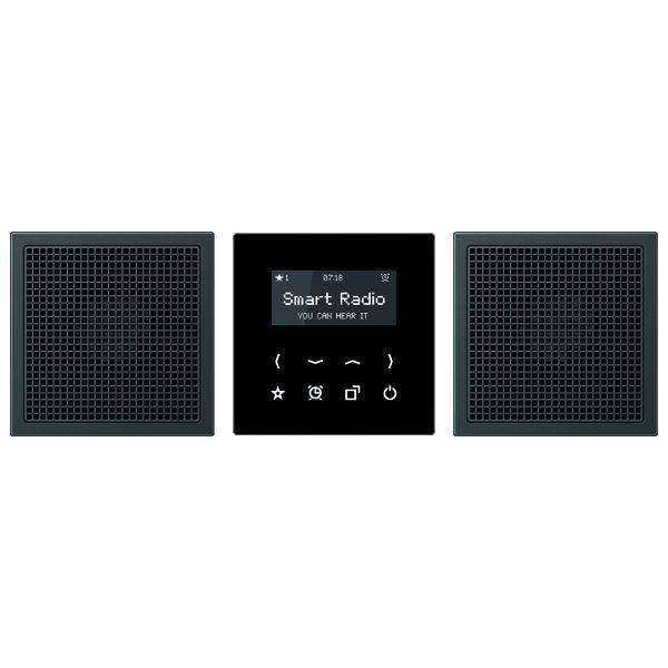 jung radal2928an smart radio mit display set stereo anthrazit online kaufen im voltus elektro shop. Black Bedroom Furniture Sets. Home Design Ideas