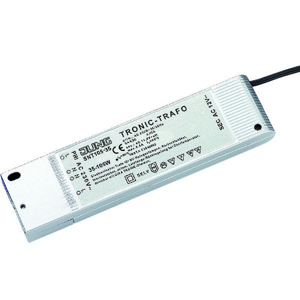 JUNG SNT 105-35 Tronic-Trafo 35-105W für NV-Halogenlampen