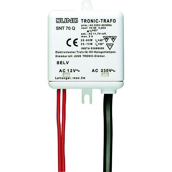 JUNG SNT 70 Q Tronic-Trafo 20-70W für NV-Halogenlampen