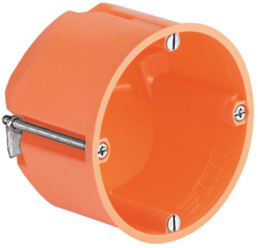 KAISER 9066-01 Hohlwand Luftdichte Geräte-Verbindungsdose nicht halogenfrei, orange