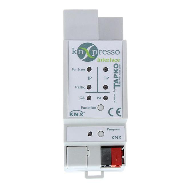 KNXPRESSO IP-Interface mit 4 Tunnelverbindungen KNX-Bus