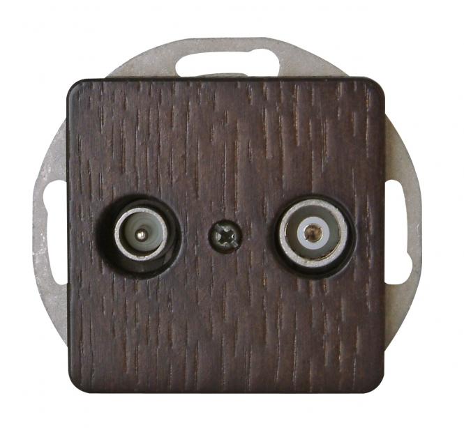 kopp 917037085 milano wenge antennensteckdose tv rf online kaufen im voltus elektro shop. Black Bedroom Furniture Sets. Home Design Ideas
