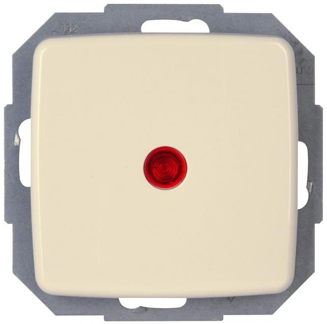 kopp 586667080 rivo creme wei kontrollschalter aus u. Black Bedroom Furniture Sets. Home Design Ideas
