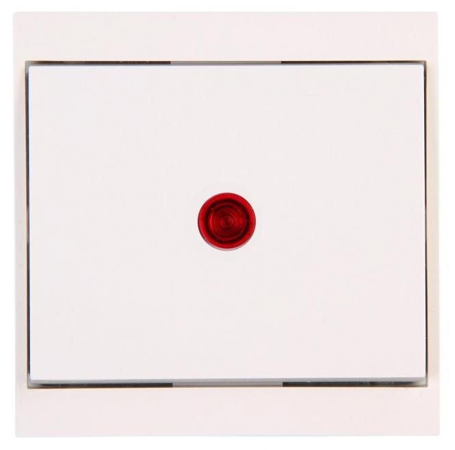 kopp 621667086 malta wei kontrollschalter aus u. Black Bedroom Furniture Sets. Home Design Ideas