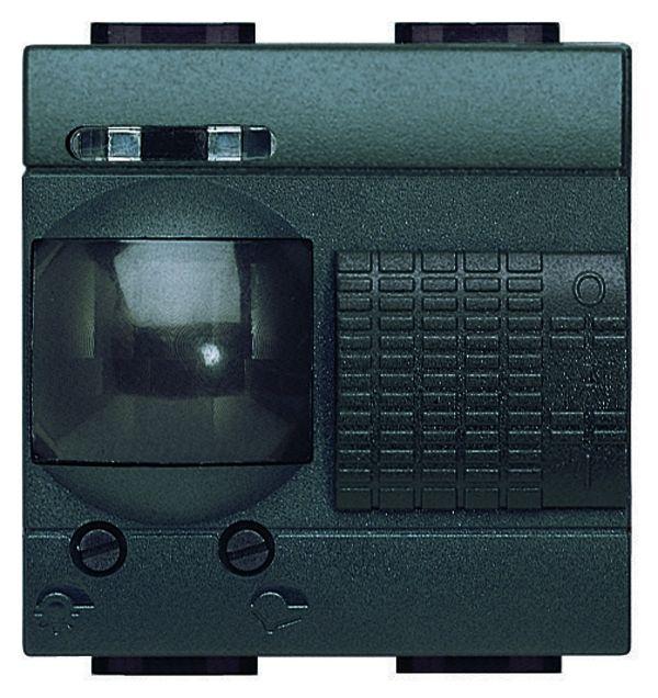 legrand l4432 passiv infrarot bewegungsm elder mit justierbarer helligkeit anthr anthrazit. Black Bedroom Furniture Sets. Home Design Ideas