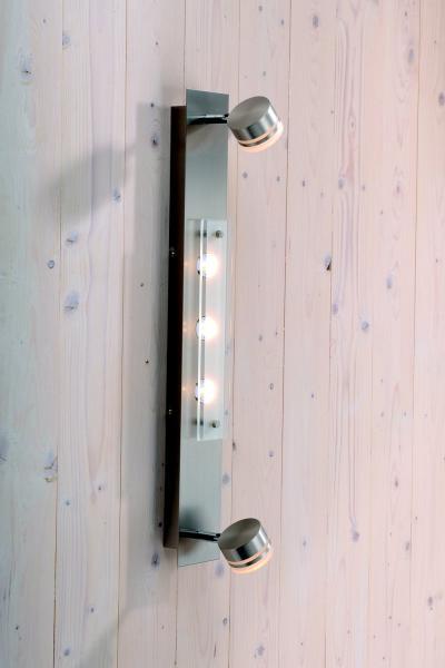 Lichtideen l35273 led deckenleuchte balken 5x3 3w stahl for Deckenleuchte led balken
