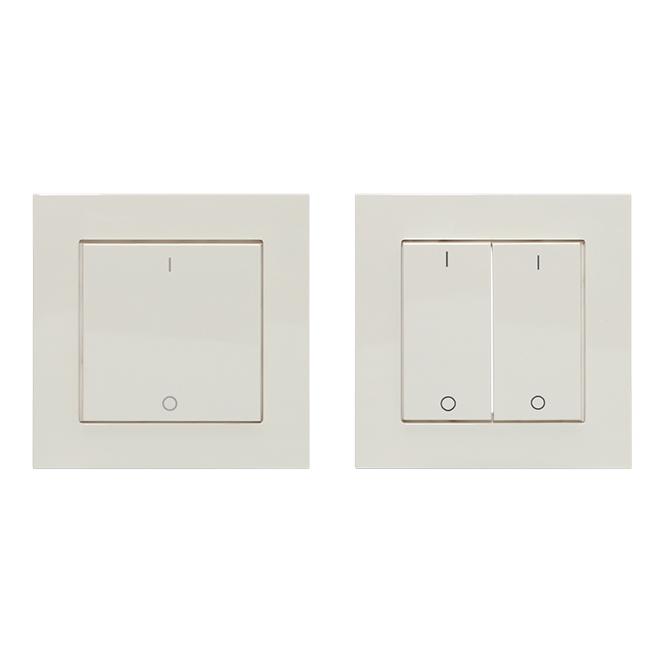 LINGG&JANKE 87891-WA FL-1-EA-WA Wippe 1fach Aluminium Silber Seidenglanz