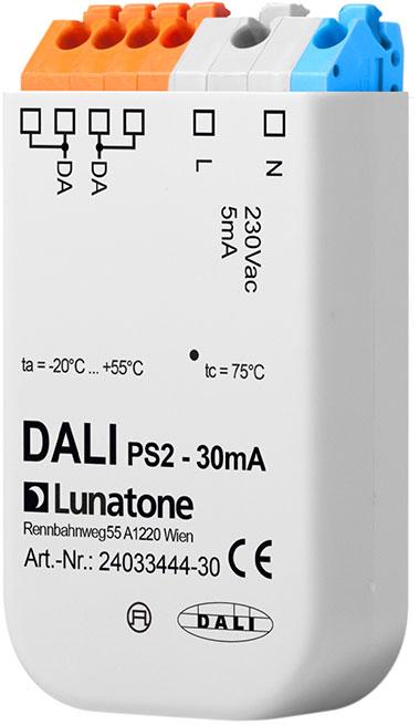 LUNATONE 24033444-30 DALI PS2 Stromversorgung für DALI-Bus Doseneinbau