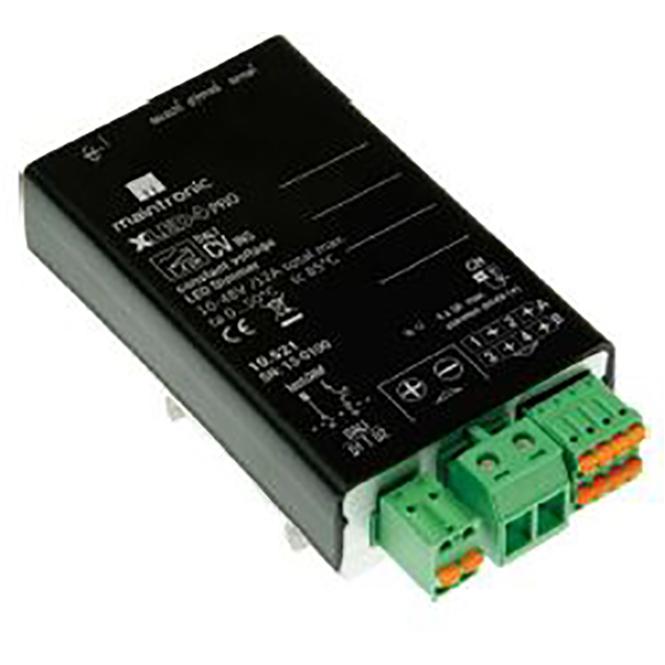 MAINTRONIC 10.521 XLED4 CV DALI LED-Dimmer 1-4CH, 10-48V DC, max 12A