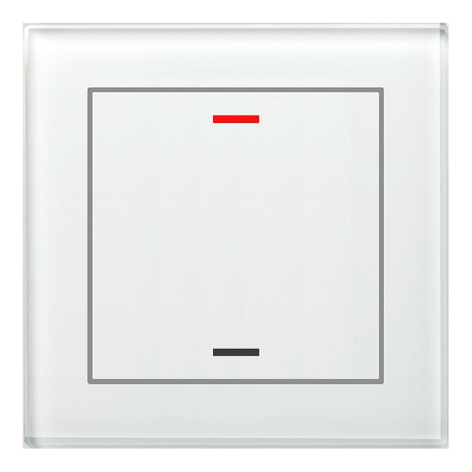 MDT BE-GTL10W.01 Glastaster II Light 1fach RGB-W Weiß (Neutral)