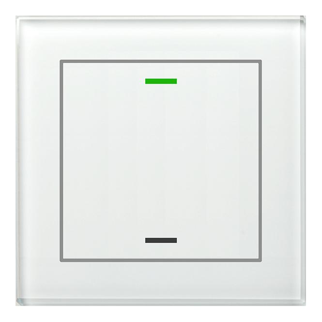 MDT BE-GTL1TW.01 Glastaster II Light 1fach RGB-W Weiß (Neutral)