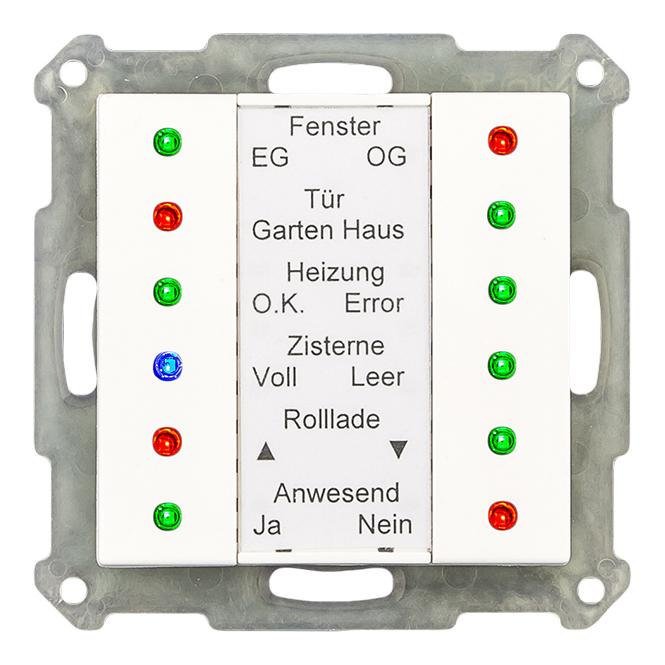 MDT SCN-LED55.01 LED Anzeige 55mm reinweiß glänzend