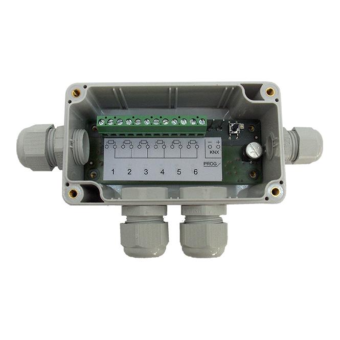 MDT SCN-RT6AP.01 Temperaturregler 6-fach AP für PT1000Sensoren bis L=12m