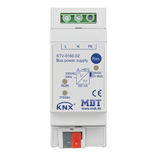 MDT STV-0160.02 Busspannungsversorgung 2TE REG 160mA