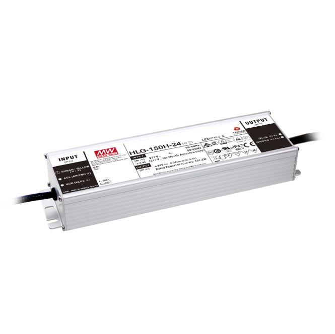 MEANWELL HLG-150H-24A LED-Schaltnetzteil IP65 150W 24V/6,3A