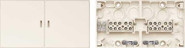 merten 521044 ger teanschlussdose mit dreierteilung up ap online kaufen im voltus elektro shop. Black Bedroom Furniture Sets. Home Design Ideas