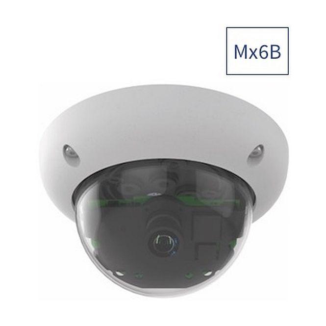MOBOTIX Mx-D26B-6N061 Komplettkamera 6MP weiß Nacht Weitwinkel-Objektiv B041
