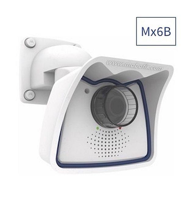 MOBOTIX Mx-M26B-6N061 Komplettkamera 6MP weiß Nacht Weitwinkel-Objektiv B061