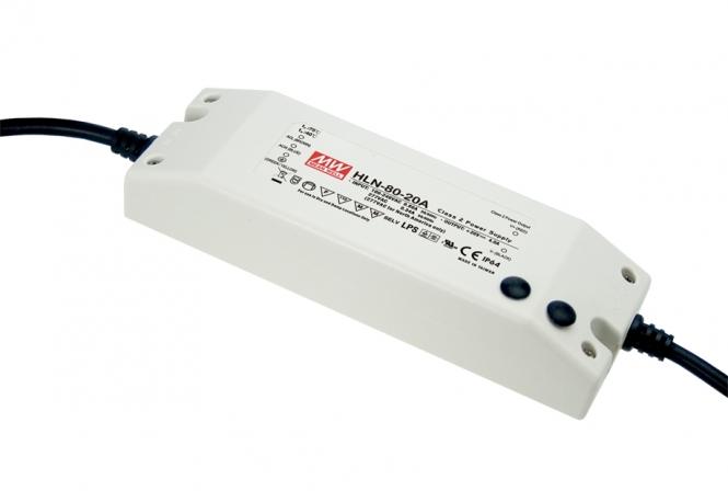 MEANWELL HLN-80H-24A LED-Schaltnetzteil IP64