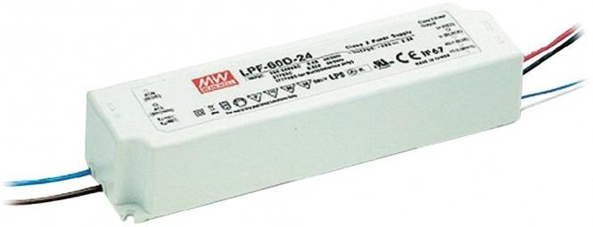 MEANWELL LPF-25-12  LED-Schaltnetzteil (IP67) 25,2W 12V/2,1A