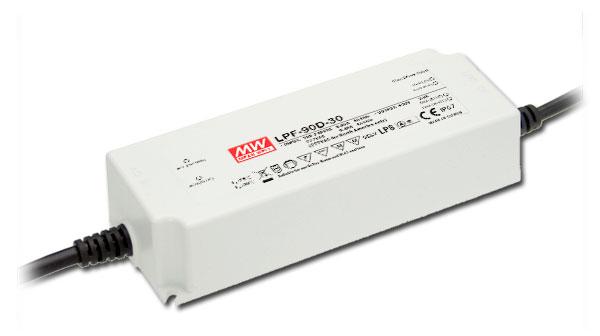 MEANWELL-LPF-90D-24 LED-Schaltnetzteile, IP67