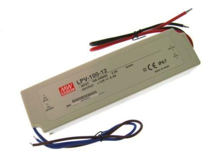 MEANWELL LPV-100-24 Schaltnetzteil, IP67