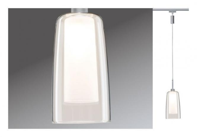 paulmann urail led pendulum arido ii max 25w gu10 230v chrom matt klar online kaufen im. Black Bedroom Furniture Sets. Home Design Ideas