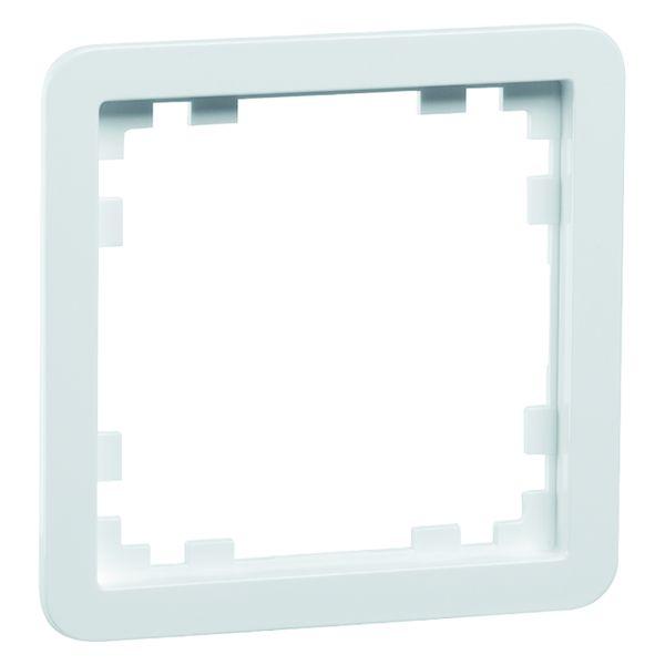 PEHA D 80.670/55 W Zwischenrahmen, weiß Durchbruch 55 x 55 mm 00219511