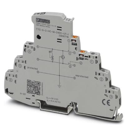 PHOENIX 2906719 TTC-6-2-HC-M-24DC-UT-I Überspannungsschutz 24 V DC
