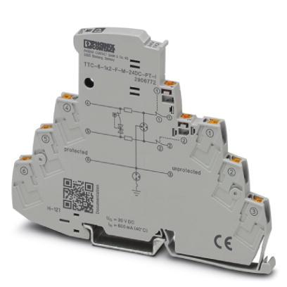 PHOENIX 2906772 TTC-6-1X2-F-M-24DC-PT-I Überspannungsschutzgerät 24 V DC