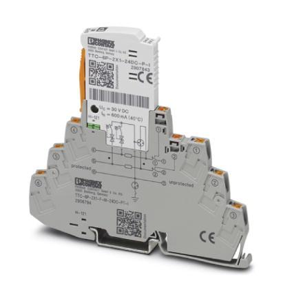PHOENIX 2906794 TTC-6P-2X1-F-M-24DC-PT-I Überspannungsschutzgerät