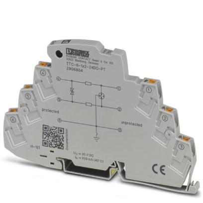 PHOENIX 2906804 TTC-6-1X2-24DC-PT Überspannungsschutzgerät 24 V DC