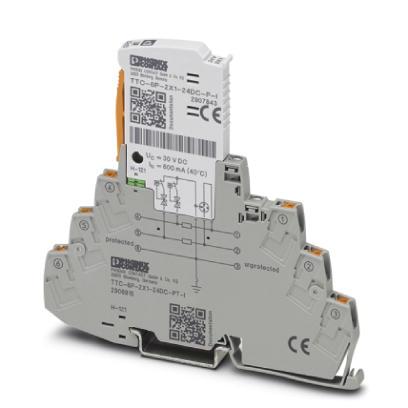 PHOENIX 2906816 TTC-6P-2X1-24DC-PT-I Überspannungsschutzgerät
