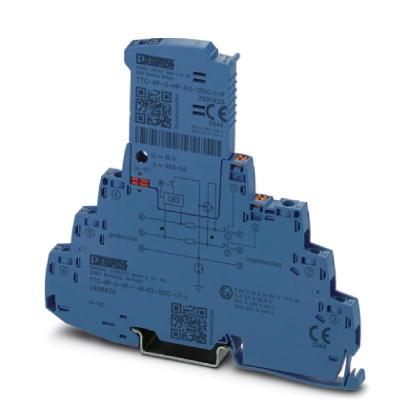 PHOENIX 2906826 TTC-6P-3-HF-F-M-EX-12DC- UT-I Überspannungsschutz 3-Leiter