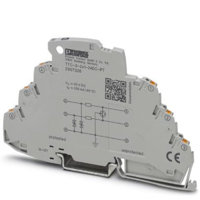 PHOENIX 2907326 TTC-3-2X1-24DC-PT Überspannungsschutzgerät 24 V DC