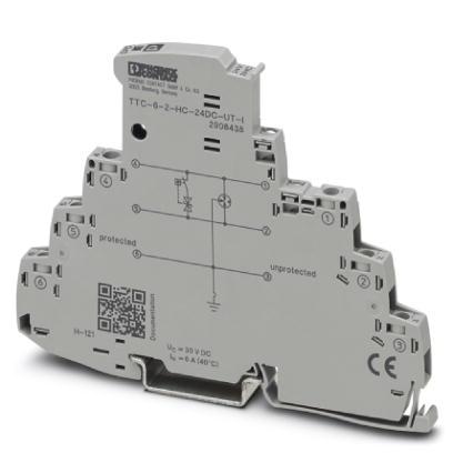 PHOENIX 2908438 TTC-6-2-HC-24DC-UT-I Überspannungsschutz 24 V DC