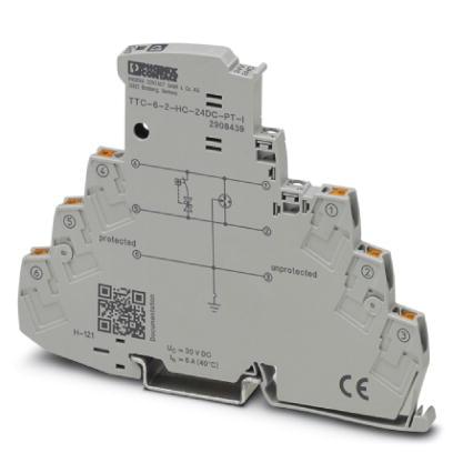 PHOENIX 2908439 TTC-6-2-HC-24DC-PT-I Überspannungsschutz 24 V DC