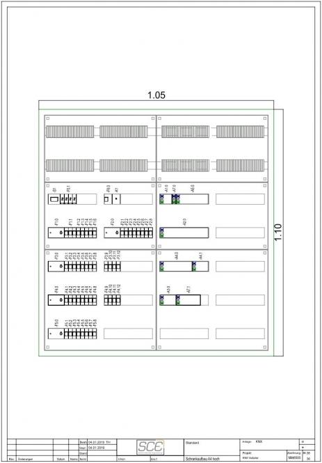 SCE ELEKTRO STD800 Standardverteiler