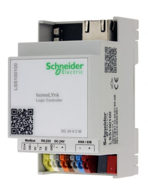 SCHNEIDER LSS100100 KNX homeLYnk Logik Controller