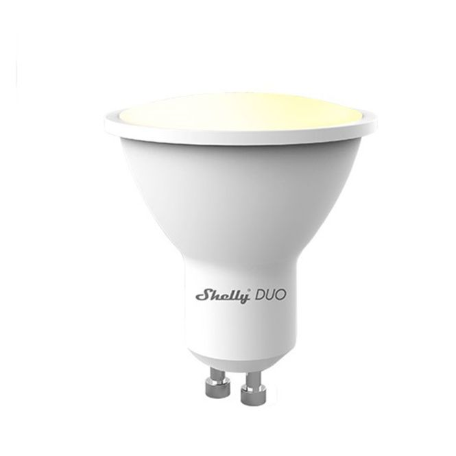 SHELLY Duo WiFi LED Leuchtmittel GU10