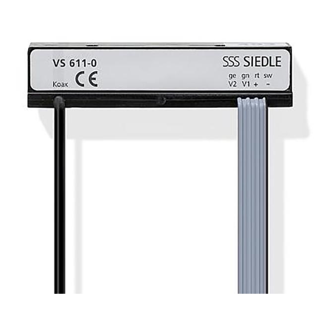 Siedle VS 611-0 Video-2 Draht-Sender für symmetrische Videosignalübertragung