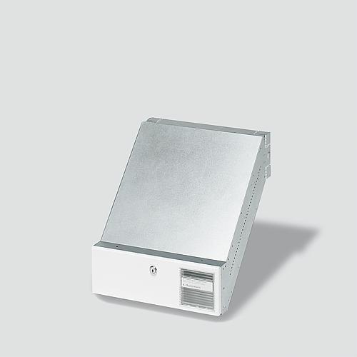 siedle bkv 611 3 1 0 w durchwurf briefkasten f r. Black Bedroom Furniture Sets. Home Design Ideas